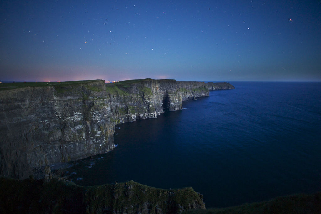 Cliffs of Moher at Twilight on the Wild Atlantic Way.