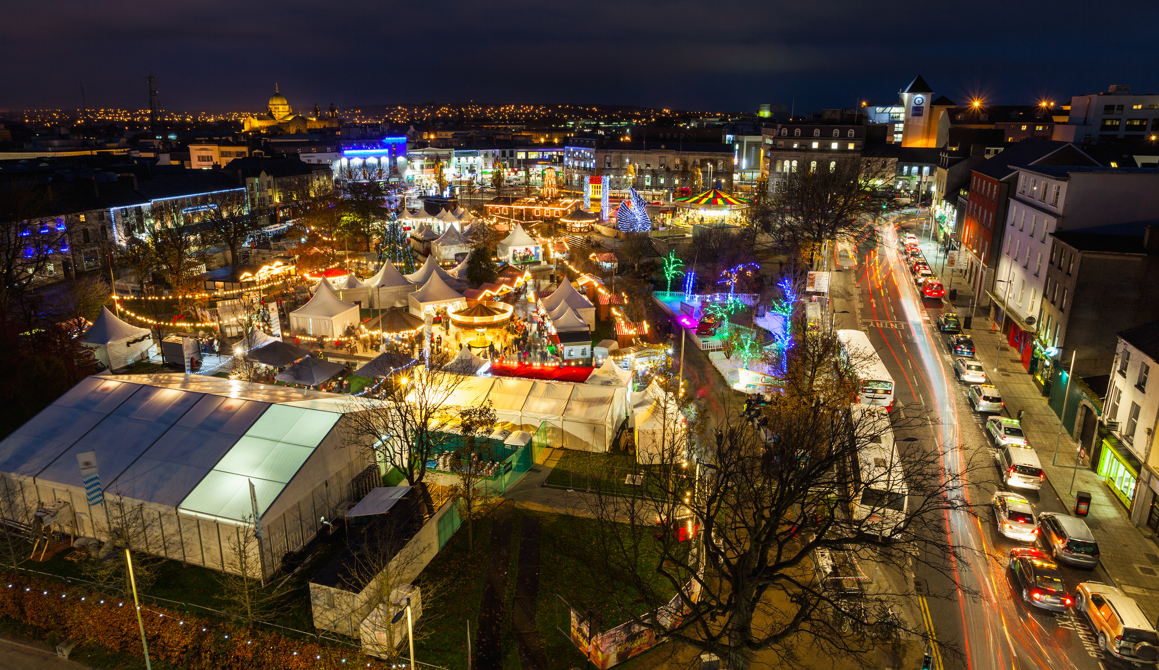 Christmas Market Eyre Square Galway