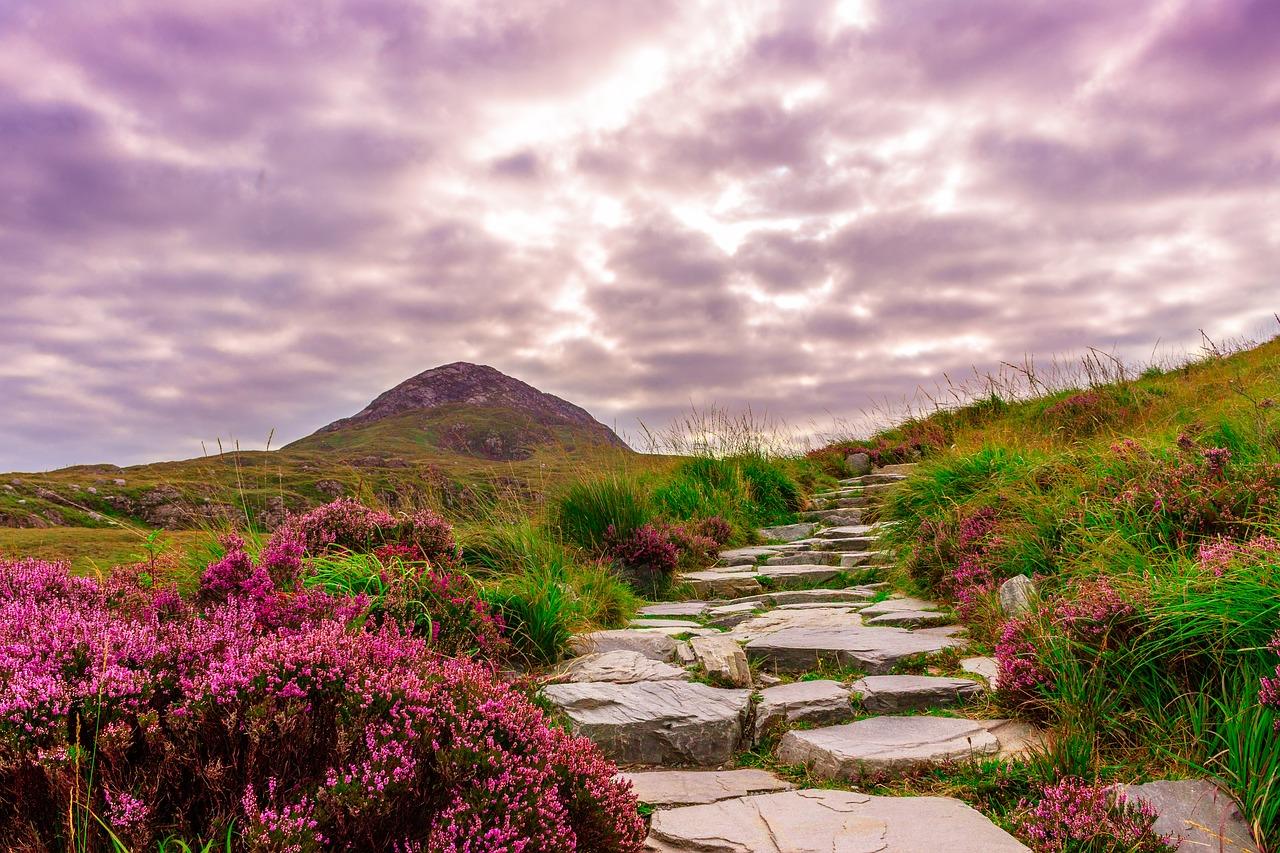 Diamond Hill - Hill Walking in Connemara National Park Connemara Galway Ireland
