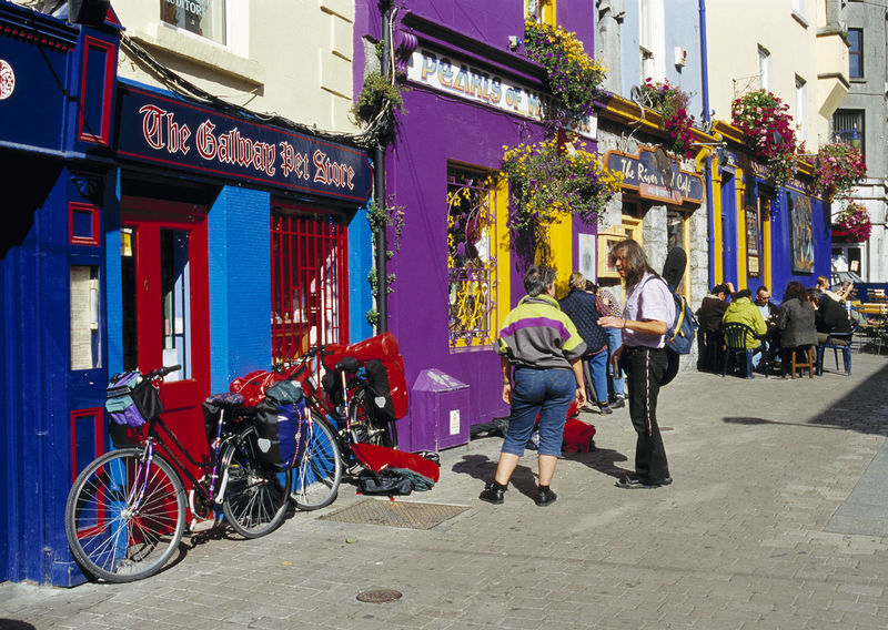 Galway Streets - The Latin Quarter - Top Things to Do in Galway City